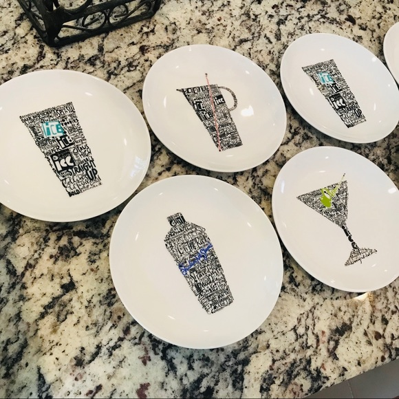 Crate&Barrel Other - NWT Crate & Barrel Appetizer Plates Set